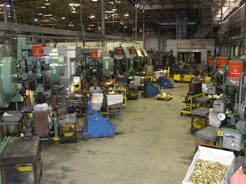 Punch Press Department
